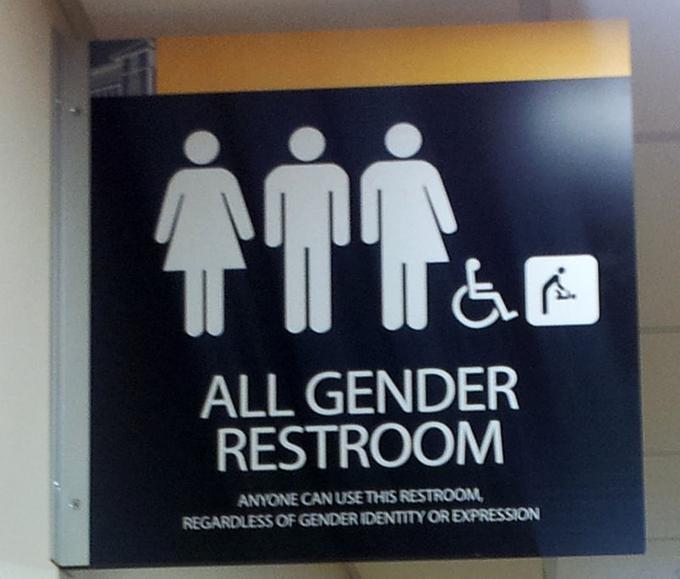 Mỹ, Canada, Nhật Bản và Thái LanỞ các quốc gia này, du khách có thể tìm thấy nhà vệ sinh cho mọi giới tính. Hình thức này phù hợp cho những người có nhu cầu đặc biệt như người già, người khuyết tật, chuyển giới hay hữu ích cho các bậc phụ huynh giúp con cái trong nhà vệ sinh.
