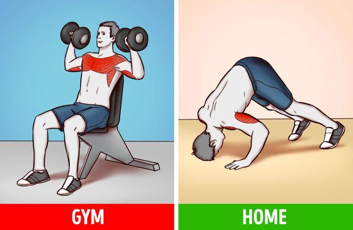 6 bài tập tại nhà hiệu quả như tập gym  - 5