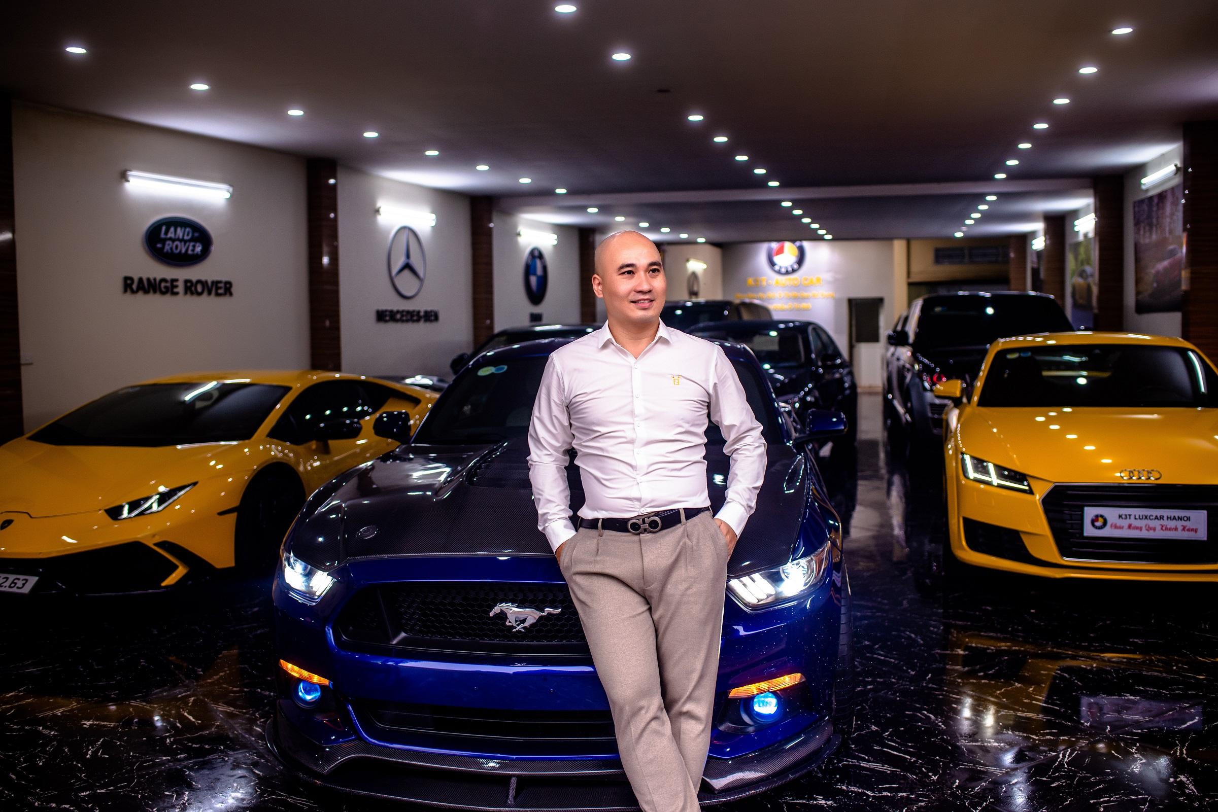 Hiện, Tú Luxcar chuyên kinh doanh siêu xe trên toàn quốc.