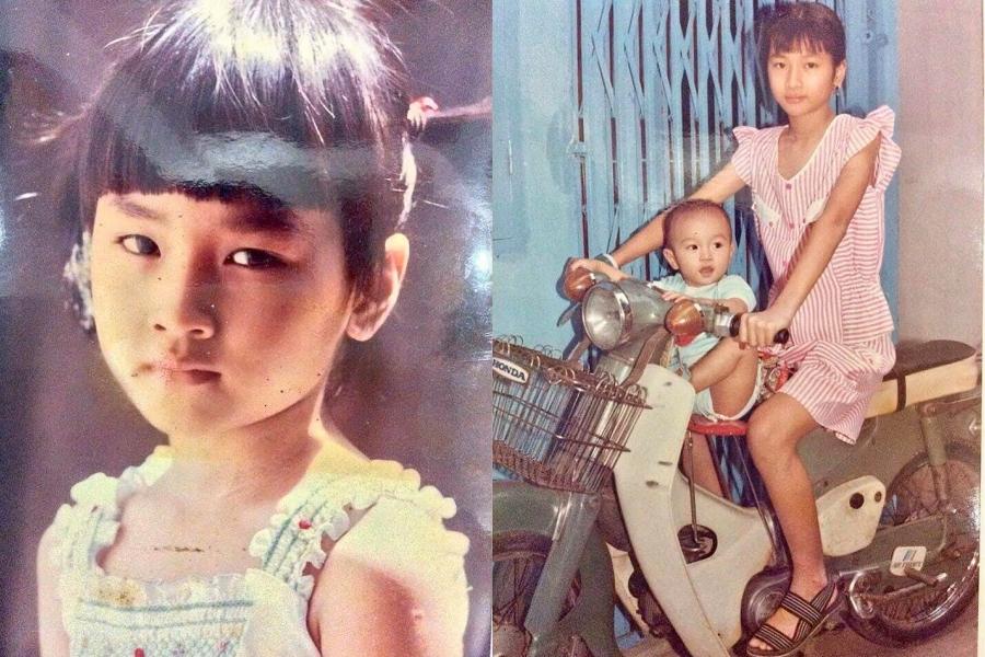 Nguyễn Xuân Uyển Nhi sinh năm 1983, từ nhỏ bắt đầu sinh hoạt trong nhóm thời trang tại nhà văn hóa Lao động (TP HCM). Có thể thấy, từ nhỏ cô đã có dạn dĩ trước ống kính và có chiều cao vượt trội.