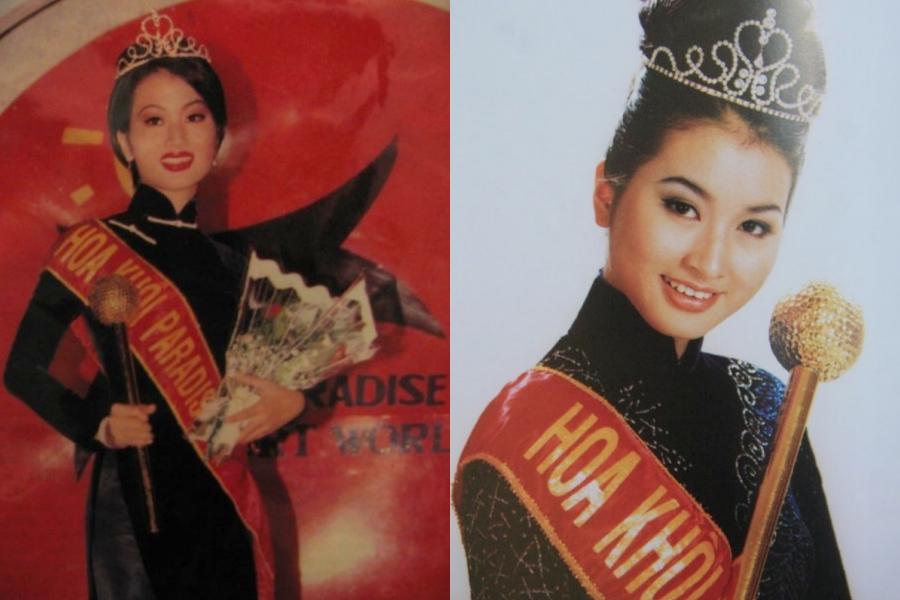 Năm 1997, cô đạt giải nhất cuộc thi Người đẹp mùa xuân, sau đó là Miss Paradise. Đây là bước đệm quan trọng giúp cô lấn sân showbiz với vai trò người mẫu.