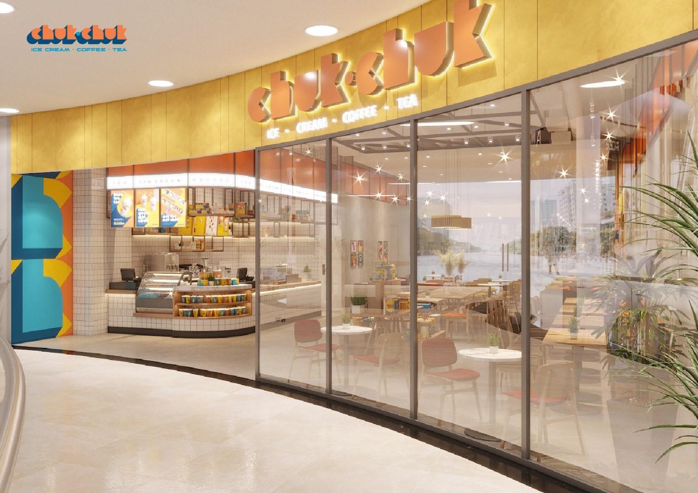 Concept cửa hàng của thương hiệu Chuk Chuk