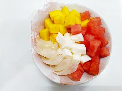 Chè thạch sữa trái cây mát lạnh ngày hè - 4