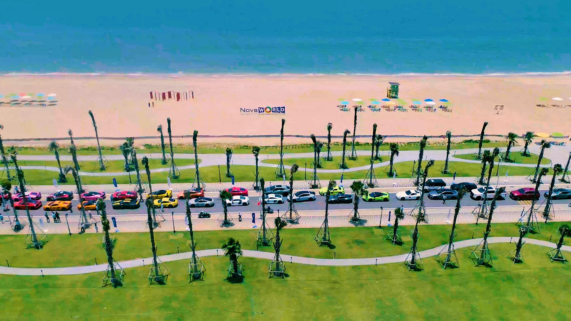 Công viên biển Bikini Beach 16 ha tại NovaWorld Phan Thiet là một trong những tiện ích mà Lý Hoàng Nam háo hức trải nghiệm.