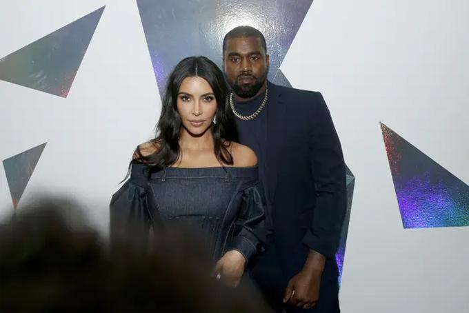Kim - Kanye kết hôn vào tháng 6/2014, có với nhau bốn người con hai trai hai gái.