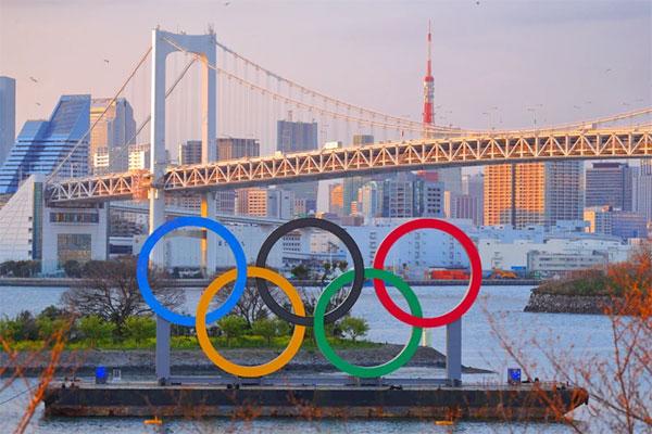 Olympic Tokyo dự kiến vẫn diễn ra theo kế hoạch vào tháng tới bất chấp tình dịch đại dịch phức tại Nhật Bản. Ảnh: PA.