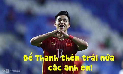 Văn Thanh ghi bàn thứ 4 cho Việt Nam ở phút 74. Việt Nam thắng Indonesia 4-0 và tiếp tục giữ đỉnh bảng G.