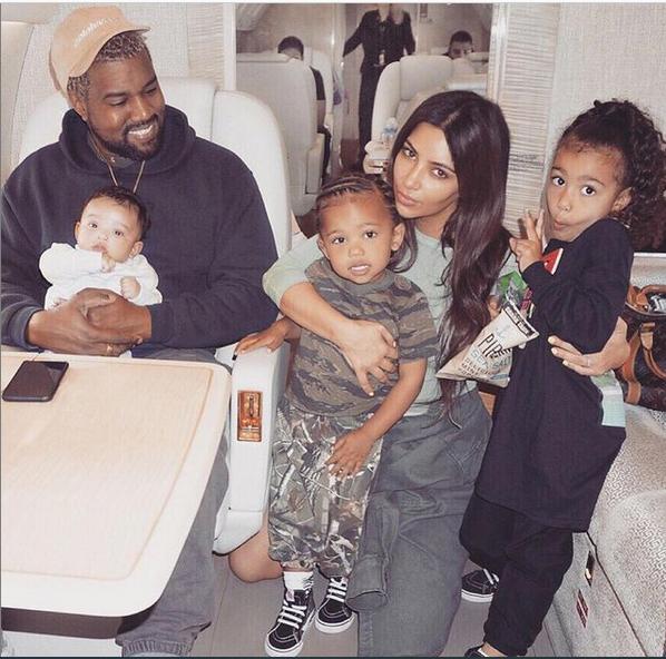 Kim đăng ảnh cũ mừng sinh nhật Kanye West.