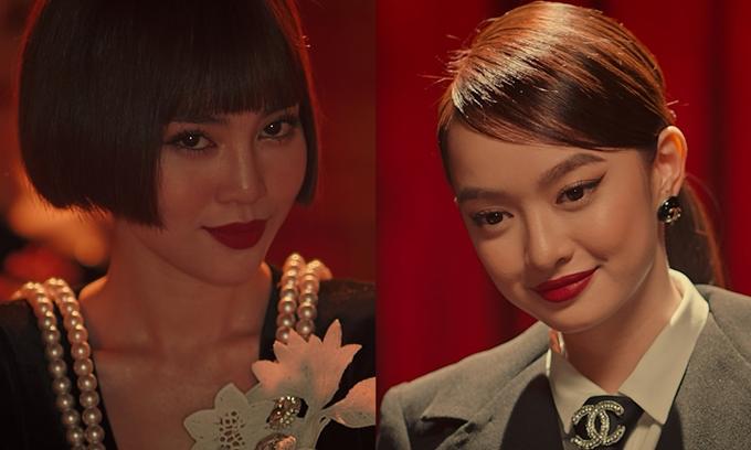 Ngọc nữ hai thế hệ Lan Ngọc - Kaity Nguyễn khác lạ trong phim Tứ đại mỹ nhân.