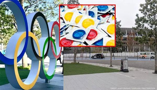 Truyền thống phát bao cao su miễn phí cho VĐV dự Olympic duy trì hơn 30 năm nay. Ảnh: Shutterstock.