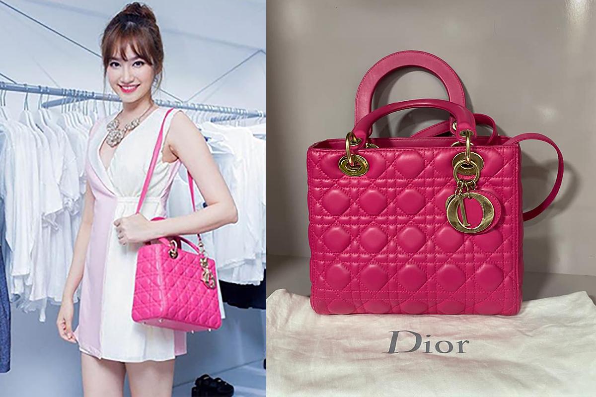 Trúc Diễm thanh lý tủ đồ hàng hiệu Dior, Chanel,... vì không mang hết sang Mỹ được. Từ tiền bán đồ cá nhân, cô còn ủng hộ ủng hộ 35 triệu đồng cho Quỹ vaccine phòng Covid-19. Trúc Diễm bán lại những túi đẹp, kết hợp được đa dạng trang phục. Như chiếc túi Lady Dior màu hồng, làm từ da bê được hoa hậu hạ giá còn 50 triệu đồng, so với giá gốc hơn 90 triệu đồng.
