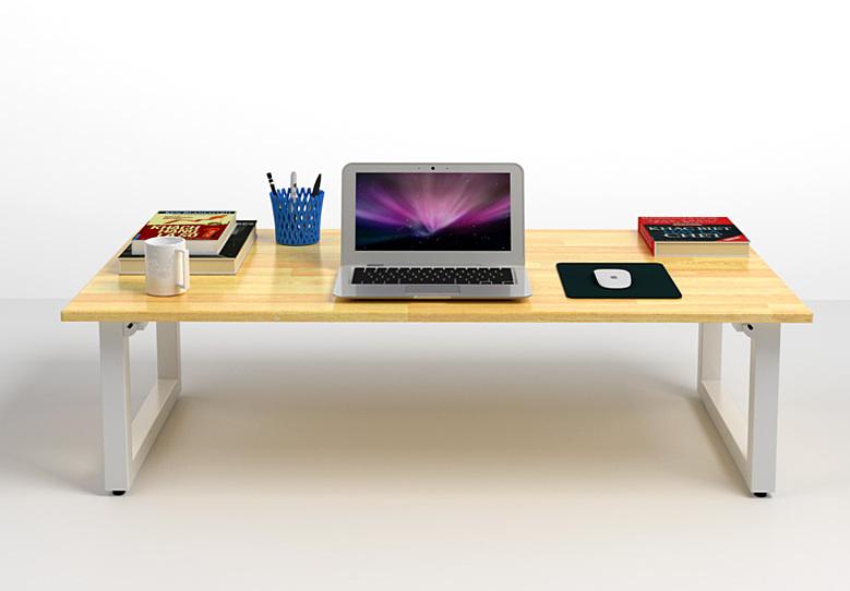 Bộ bàn bệt Rec-B trắng và ghế Pisu gấp gọn - IBIE - Nâu 1.226.670đ (- 40 %)Mặt bàn gỗ tự nhiên, tẩm sấy và sơn PU 2 mặt kỹ càng.- Khung bàn sơn tĩnh điện cao cấp, bền đẹp.- Thiết kế chân gập thông minh, có thể xếp gọn- Tiết kiệm không gian, dễ dàng di chuyển- Kết cấu chắc chắn, an toàn.  Bộ bàn bệt Rec-B trắng 1m2 và ghế Pisu gấp gọnược làm từ gỗ cao su xuất khẩu, dày 18mm, tẩm sấy kỹ càng chống cong vênh mối mọt. Bề mặt được sơn PU và phủ 2K kỹ càng với màu nâu vàng đẹp mắt, chống thấm chống trầy hiệu quả, đảm bảo đồ bền cho sản phẩm. Mặt bàn có kích thước 120 x 60 cm rộng rãi để được nhiều đồ dùng học tập hay làm việc.  thiết kế với khung chân có thể gấp gọn, giúp tiết kiệm không gian mỗi khi không sử dụng đến. Bên cạnh chất lượng đã đã được khẳng định qua thương hiệu IBIE, mẫu bàn bệt Rec-B còn được ưa chuộng bởi tính ứng dụng cao, có thể làm bàn trà, bàn cafe phòng khách, bàn học hay bàn làm việc, và thậm chí là bàn ăn ... Thiết kế trẻ trung, tiện lợi và đầy cảm hứng, bàn bệt Rec-B sẽ góp phần tô điểm cho không gian sống thêm sang trọng, hiện đại.Chân bàn làm từ sắt hộp 4 x 4 cm, dầy 1,4 ly và sơn tĩnh điện cao cấp, bền đẹp, giúp sản phẩm sử dụng lâu dài không sợ bong tróc hay móp méo. Bốn nút tăng đơ dưới chân có tác dụng giúp bàn cân bằng, không bị xê dịch khi sử dụng và làm trầy xước sàn nhà. Đặc biệt, mẫu bàn này có thể gập chân rất tiện lợi, dễ dàng di chuyển và tiết kiệm không gian khi không sử dụng.