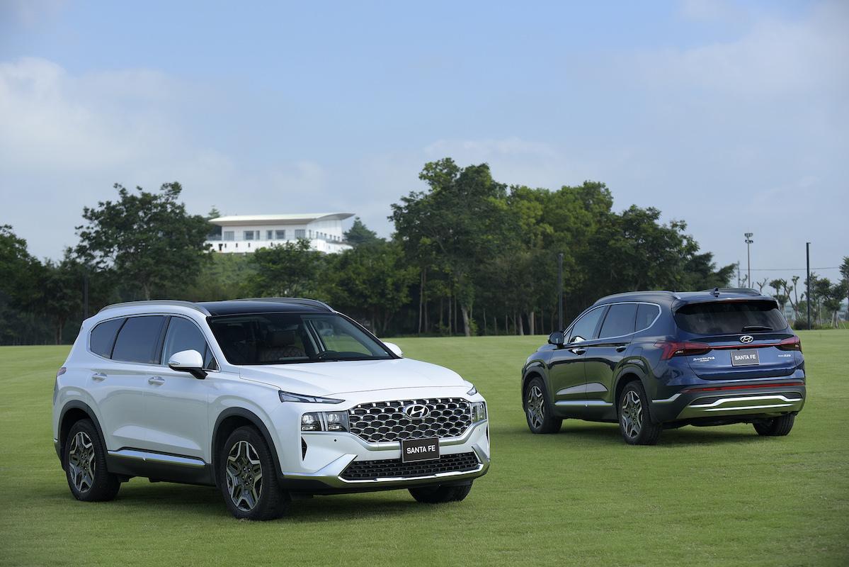 Hyundai Santa Fe 2021 tại Ninh Bình.