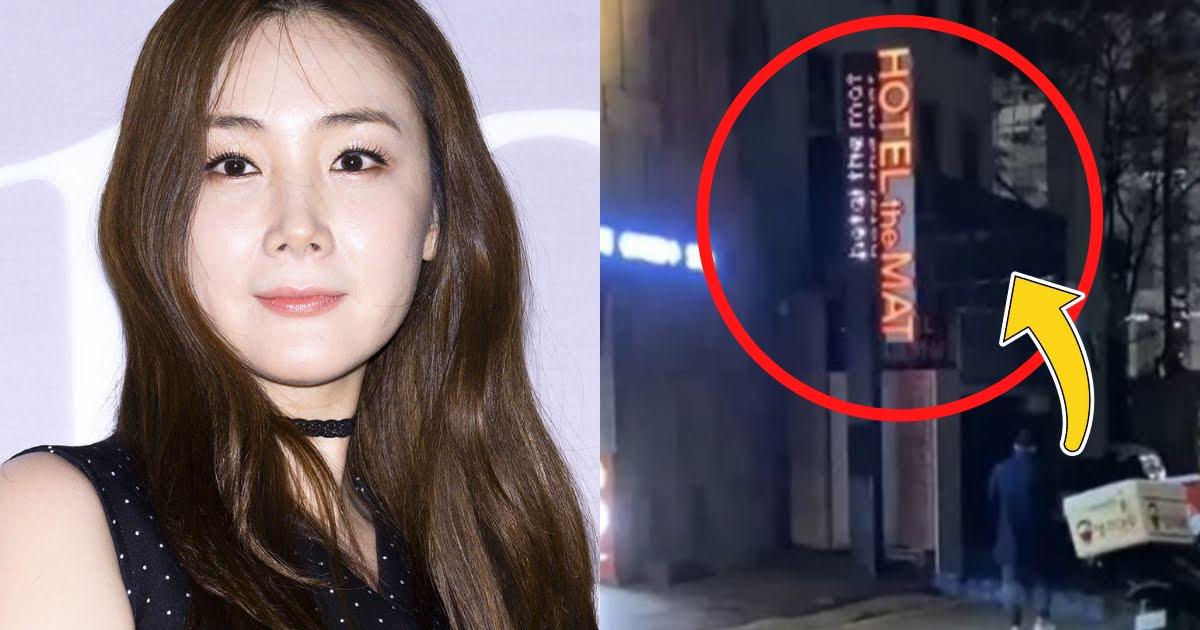 Kang Yong Suk, người dẫn kênh YouTube Viện Garo Sero tung tấm ảnh khẳng định chồng diễn viên Choi Ji Woo vào khách sạn với gái.