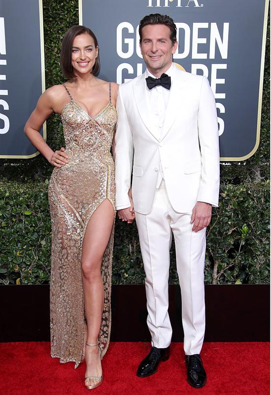 Irina và Bradley Cooper.
