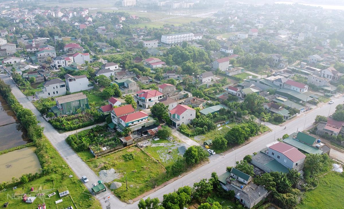 Một góc của hôn Đoài Thịnh, xã Thạch Trung, TP Hà Tĩnh, nơi hai vợ chồng doanh nhân lưu trú khi từ Bình Dương về. Ảnh: Hùng Lê