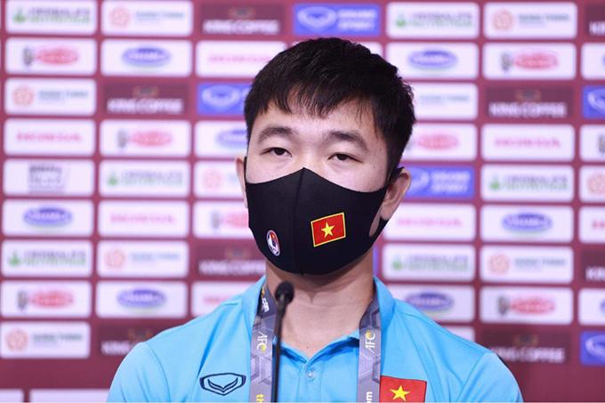 Xuân Trường thận trọng trước trận đối đầu Malaysia. Ảnh: Lâm Thoả.