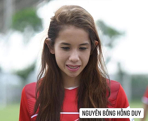 Hồng Duy được fan ưu ái make up khá kỹ lưỡng và đặt tên điệu đà.