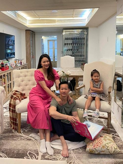 Gia đình Đức An - Phan Như Thảo cách ly tại nhà riêng ở TP HCM.