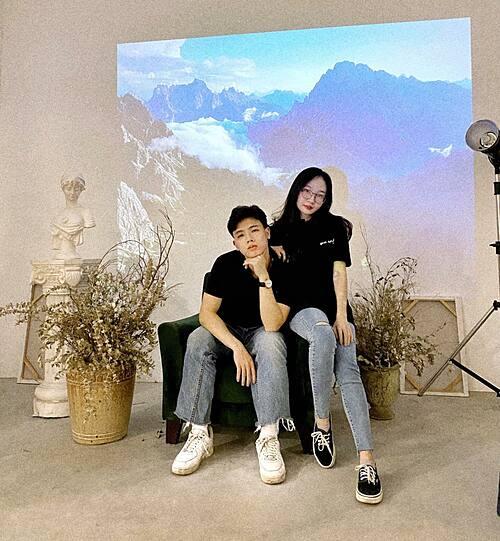 Video Thủ tục chào người yêu là lấy từ thực tế việc nịnh bạn gái mỗi khi dỗi của Quang.