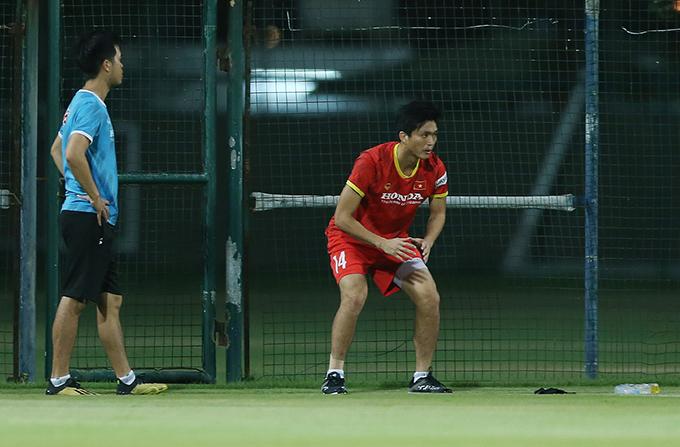 Tuấn Anh không kịp bình phục chấn thương để tham dự trận đấu với Malaysia. Ảnh: Lâm Thoả.