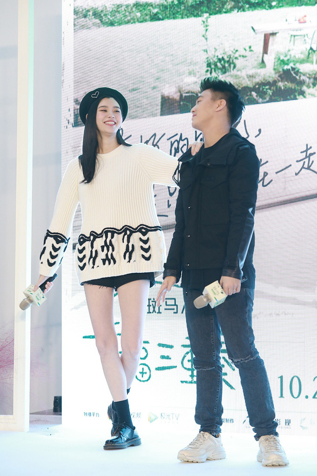 Hề Mộng Dao và doanh nhân Hà Du Quân.