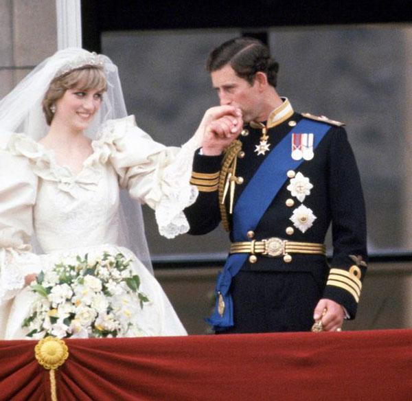 Đám cưới hoàng gia của Diana và Thái tử Charles vào năm 1981. Ảnh: UK Press.
