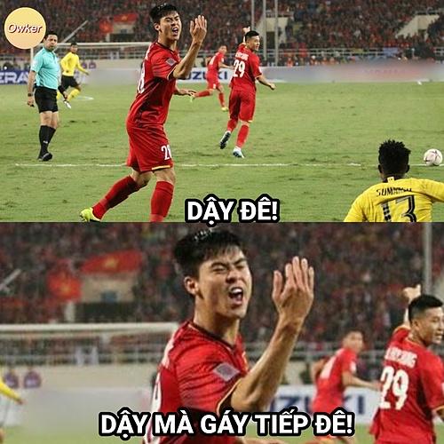 Trước trận đấu, Malaysia tuyên bố sẽ thịt Rồng vàng tuy nhiên kết quả Việt Nam đã bắt hổ Malaysia.