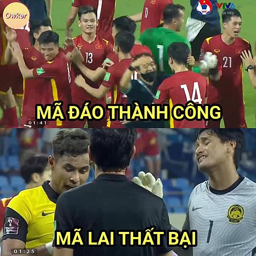 Trong khi Việt Nam ăn mừng chiến thắng, Malaysia bị loại khỏi vòng loại World Cup.