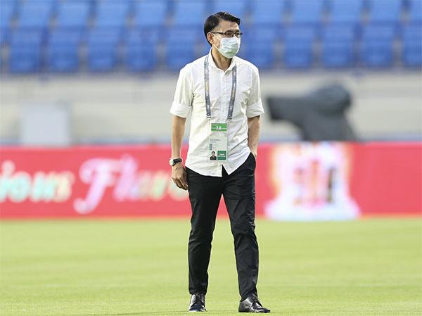 HLV Malaysia trước trận gặp Việt Nam đêm 11/6. Ảnh: Lâm Thỏa.