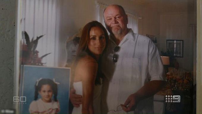 Ông Thomas và con gái Meghan thời mối quan hệ cha con vẫn còn tốt đẹp. Ảnh: Nine.