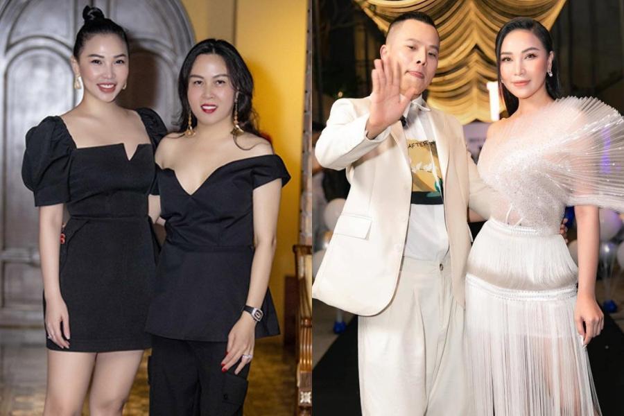 Ngoài ra, Quỳnh Thư còn chơi chung với Phượng Chanel, Vũ Khắc Tiệp, NTK Đỗ Long, Lê Hà...