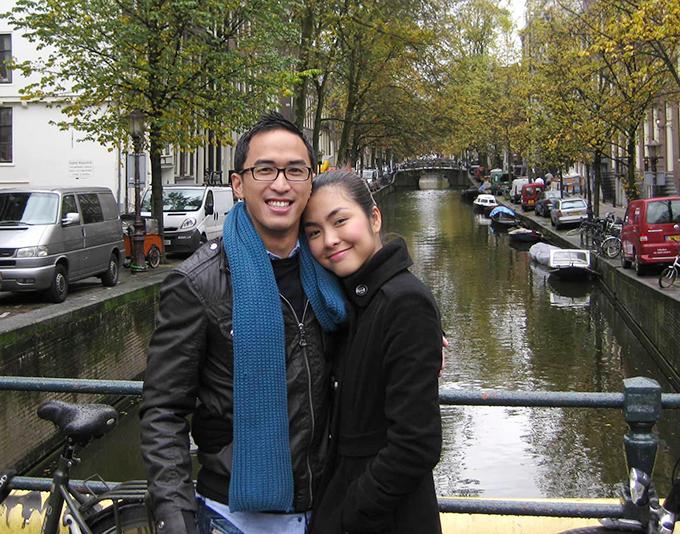 Vợ chồng Tăng Thanh Hà - Louis Nguyễn 12 năm trước.