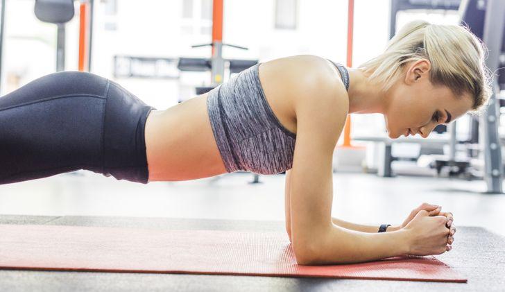 Kế hoạch tập plank trong 21 ngày giúp eo thon - 1