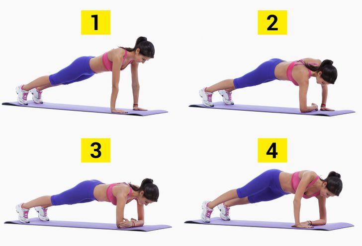 Kế hoạch tập plank trong 21 ngày giúp eo thon - 3
