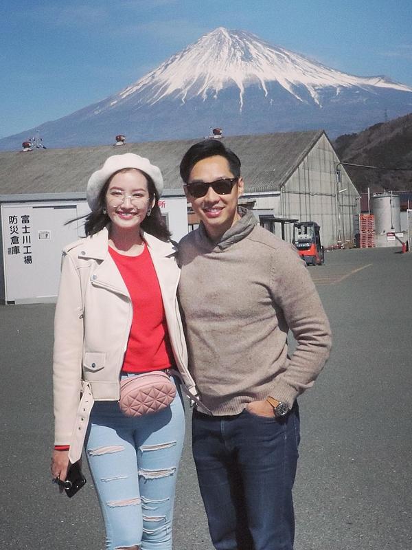 Trúc Diễm nhiều lần đảm nhận vai trò đại sứ du lịch tại một số tỉnh của Nhật Bản. Các chuyến đi này luôn có ông xã bên cạnh hỗ trợ cô. Ngoài ra, họ còn có chung sở thích du lịch và đã cùng nhau đặt chân đến nhiều quốc gia.
