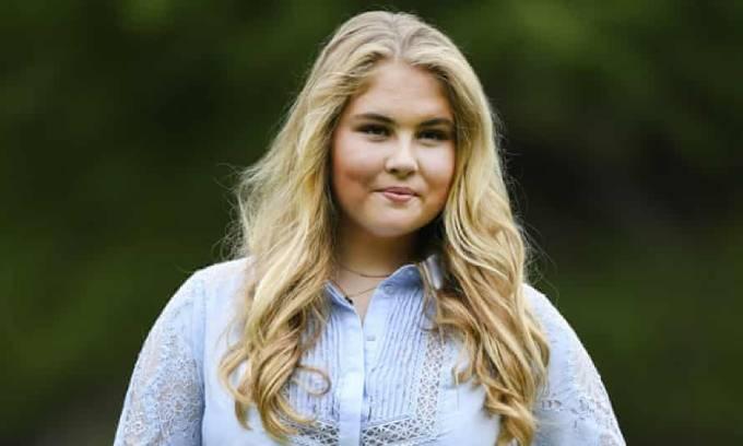 Công chúa Catharina-Amalia của Hoàng gia Hà Lan. Ảnh: AP.