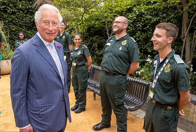 Thái tử Charles - người sẽ quyết tâm thu gọn chế độ quân chủ Anh trong tương lai. Ảnh: Reuters.