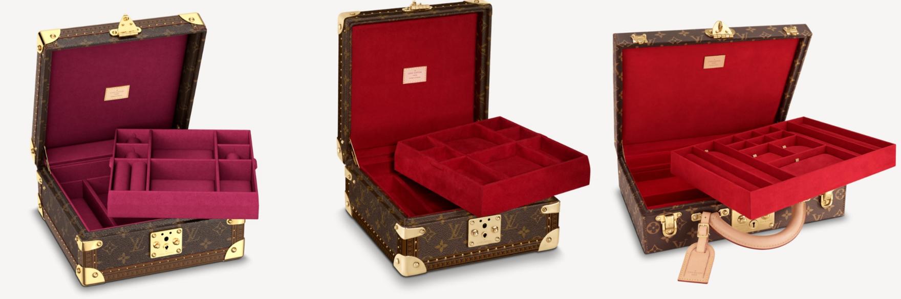 Tín đồ có thể cất gọn trang sức với dòng Jewelry Box với thiết kế sang trọng, bắt mắt.