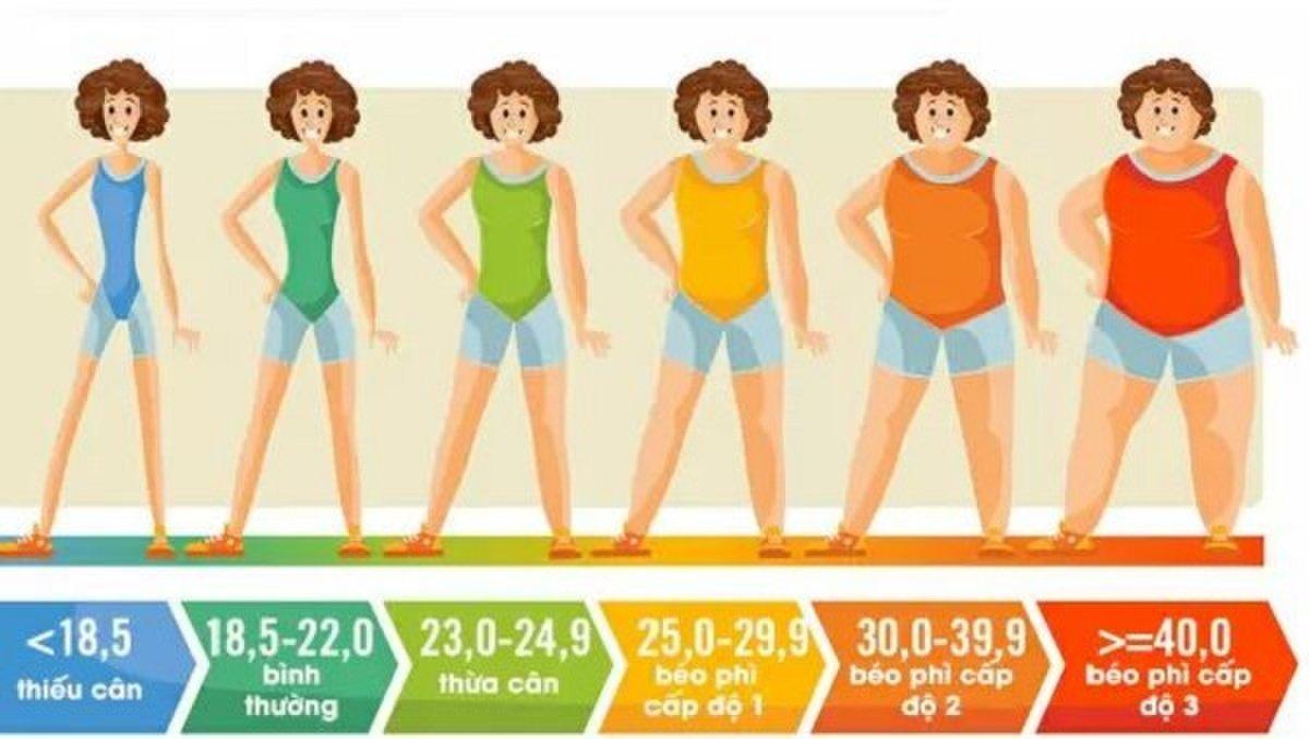 Chỉ số khối cơ thể.