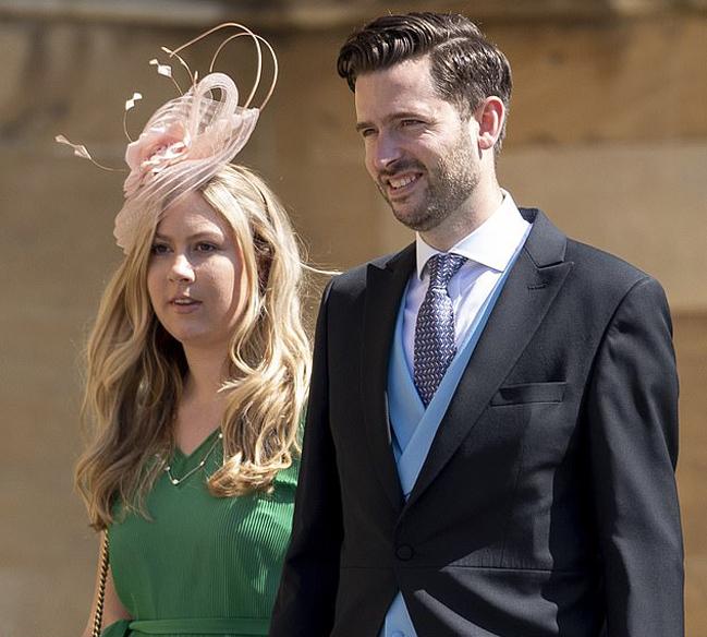 Jason Knauf - cựu thư ký truyền thông cho nhà Sussex - dự đám cưới hoàng gia năm 2018. Ảnh:Goffphotos.