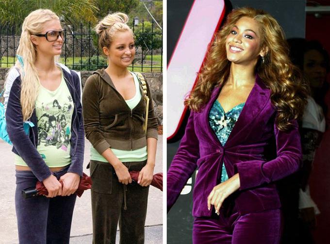 Set đồ nhungCách đây 20 năm, những ngôi sao như Beyonce, Britney Spears, Paris Hilton... biến xu hướng này thành biểu tượng của thời kỳ đó.