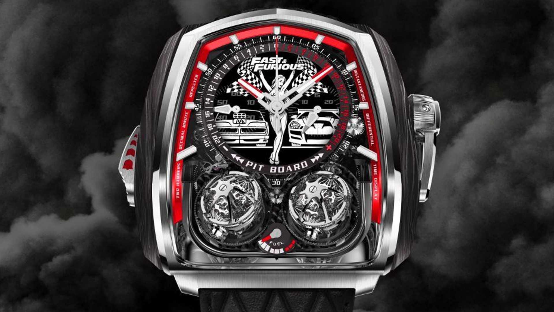 Đồng hồ Fast & Furious Twin Turbo sản xuất số lượng giới hạn.