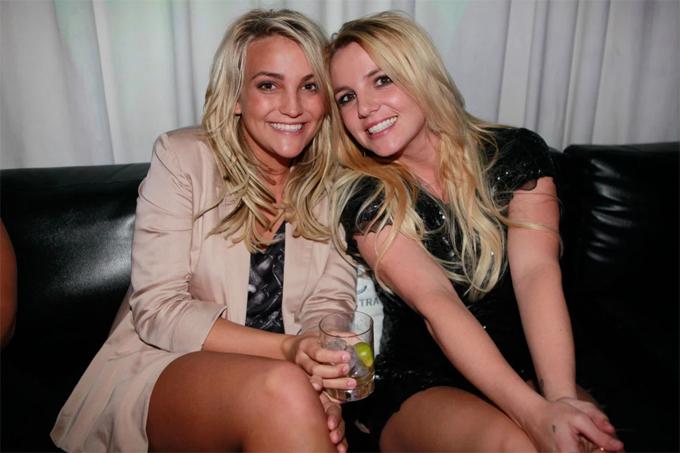 Jamie Lynn và Britney.