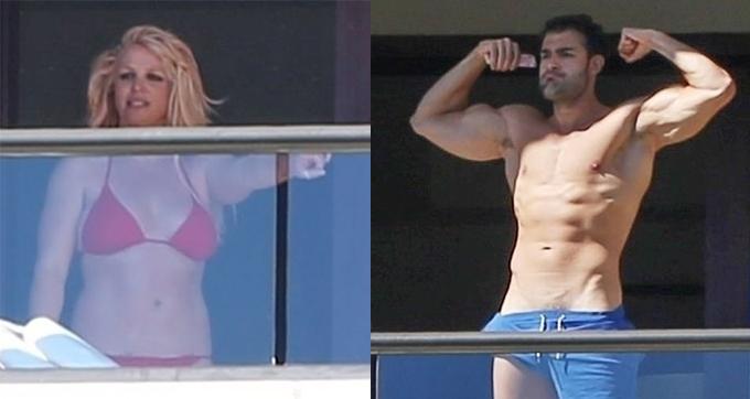 Sam cũng tạo cảm hứng cho Britney và cặp đôi thường xuyên tập luyện cùng nhau.