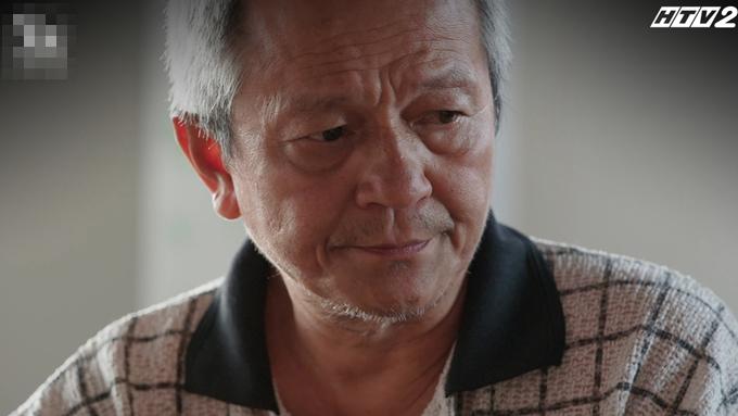NSƯT Quốc Trọng diễn xuất sắc trong phim Cây táo nở hoa.