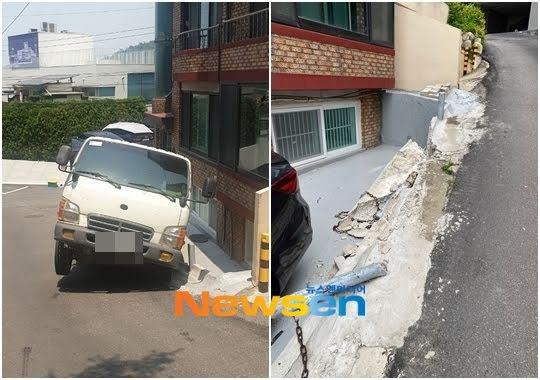 Những tai nạn xảy ra do con đường bị đôn cao.
