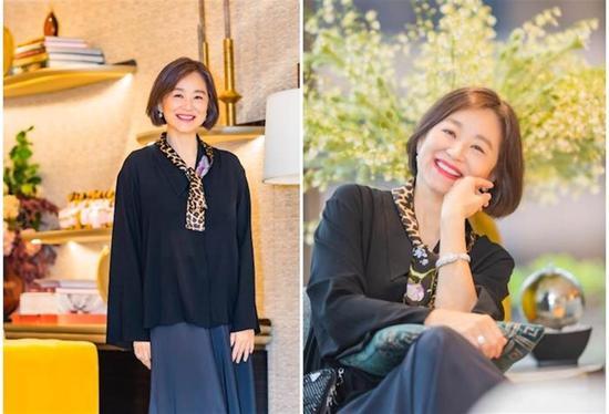 Diễn viên Lâm Thanh Hà hiện tại.