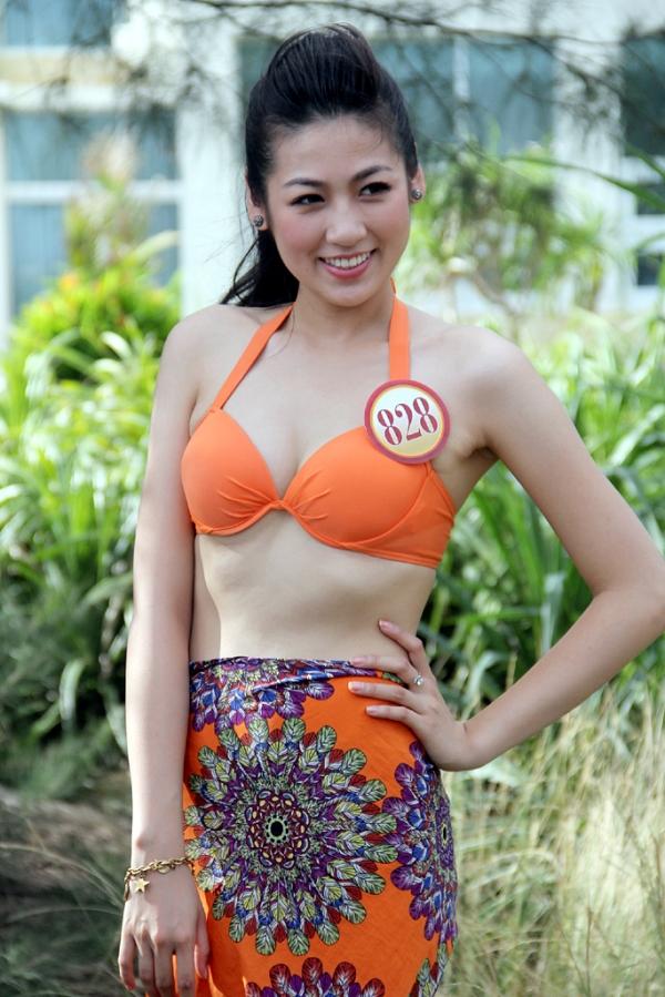 Á hậu 1Dương Tú Anhsinh năm 1993, cao 1,72m và là sinh viên Học viện Báo chí Tuyên truyền. Năm đó, cô thuộc nhóm ứng viên hàng đầu cạnh tranh vương miện nhưng kết quả dừng bước trước Đặng Thu Thảo.