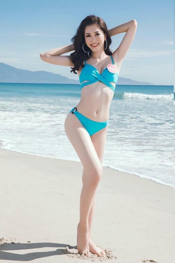 Bùi Phương Nga sinh năm 1998, cao 172 cm, là sinh viên Đại học Kinh tế Quốc dân Hà Nội. Ngay sau cuộc thi, cô chinh chiến ở Hoa hậu Hòa bình Thế giới tại Myanmar, vào top 10 nhờ thắng giải bình Chọn.
